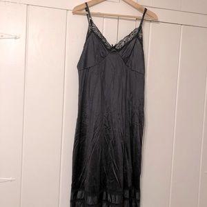 Vintage Adonna black slip